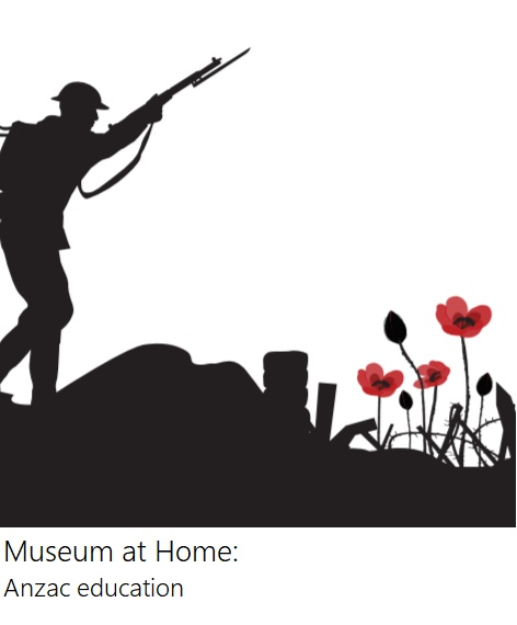 Anzac silhouette poppies
