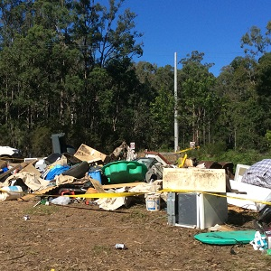 Information about illegal dumping and how to report it if you see it.