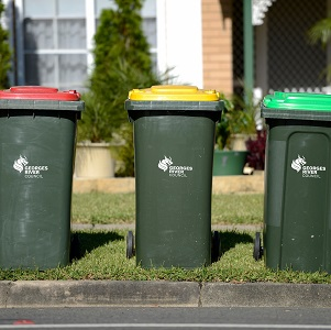 You can find information on what waste goes in each bin on this page.