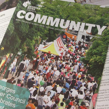 Community Magazine - Quarterly Publication